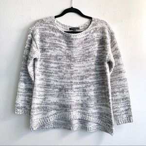 Romeo and Juliet Couture High Low Knit Sweater